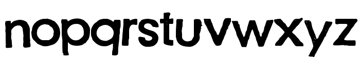 Just another stamp font - Demo Font LOWERCASE