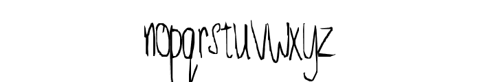Just for fun Font LOWERCASE