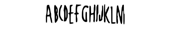 JustAnotherDayNBP Font UPPERCASE