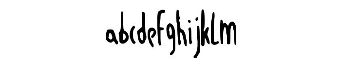 JustAnotherDayNBP Font LOWERCASE
