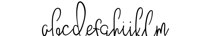 JustBecause Font LOWERCASE