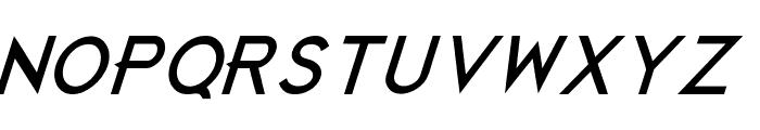 JustDieAlready-BlackItalic Font UPPERCASE