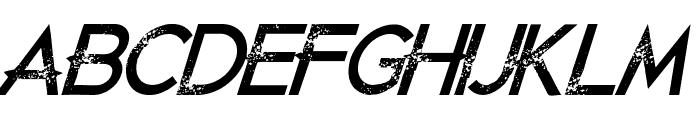 JustDieAlready-Italic Font UPPERCASE