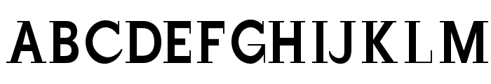 JustOldFashion-Condensed Font UPPERCASE