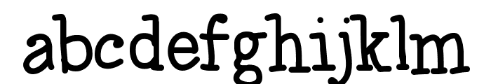 JustPlayin Font LOWERCASE