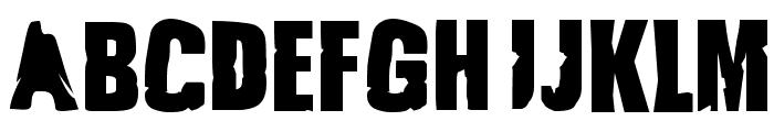 JustSmashing Fartzake Font UPPERCASE
