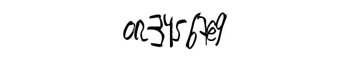 JustWriteDT Font OTHER CHARS