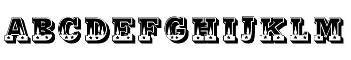 Justa Regular Font LOWERCASE