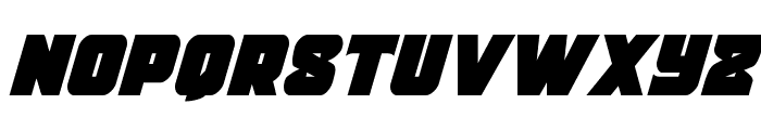 Justice Condensed Font LOWERCASE