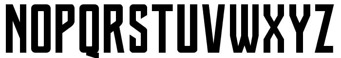 Justice League Font UPPERCASE