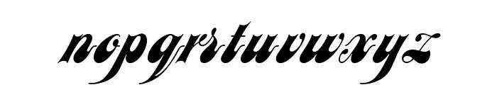 JusticeScriptOpti Font LOWERCASE