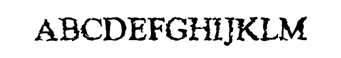 JusticeWanted Font UPPERCASE