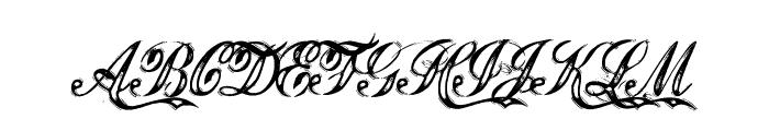 JusticebyDirt2 Font UPPERCASE