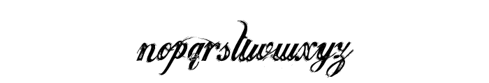 JusticebyDirt2 Font LOWERCASE