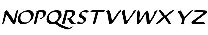 Justinian Italic Font LOWERCASE
