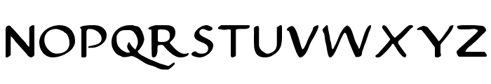 Justinian Font UPPERCASE