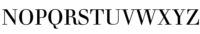 Justus Roman Font UPPERCASE