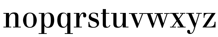 Justus Roman Font LOWERCASE