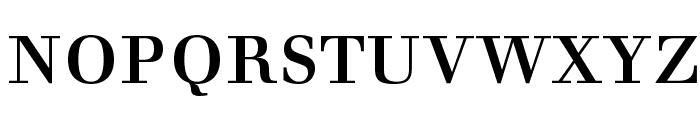 Justus Versalitas Font LOWERCASE