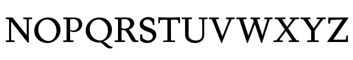 Juvelo Roman Font UPPERCASE