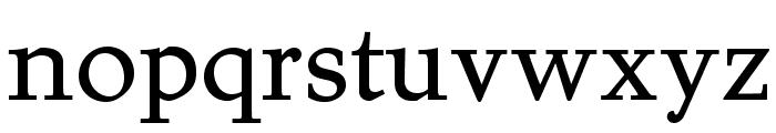 Juvelo Roman Font LOWERCASE