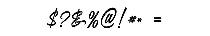 Juvenile-Rough Font OTHER CHARS
