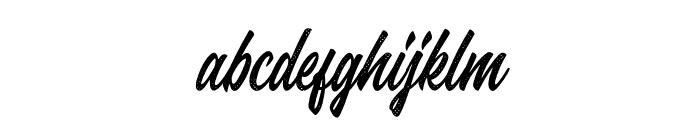 Juvenile-Rough Font LOWERCASE