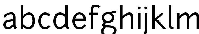 junction regular Regular Font LOWERCASE