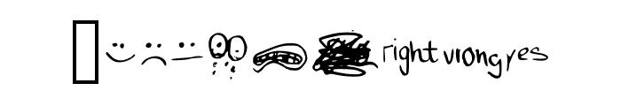 just symbols and stuff Medium Font OTHER CHARS