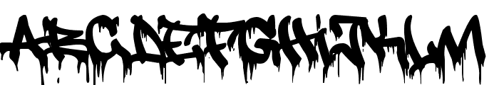 justfist2 Font LOWERCASE