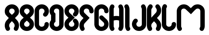 justta Font LOWERCASE