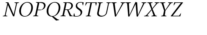 Jude Light Italic SC Font UPPERCASE