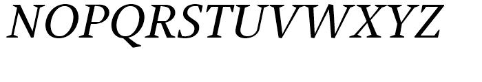 Jude Medium Italic SC Font UPPERCASE