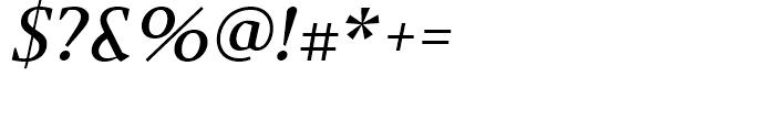 Jude Medium Italic Font OTHER CHARS