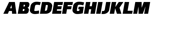 Juhl Black Italic Font UPPERCASE