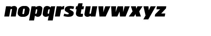 Juhl Black Italic Font LOWERCASE
