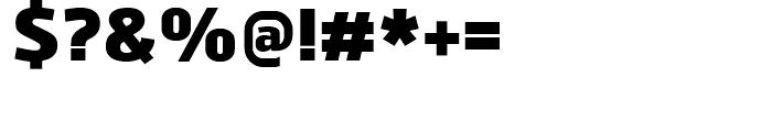 Juhl Heavy Font OTHER CHARS