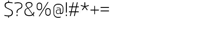 Juhl Light Font OTHER CHARS
