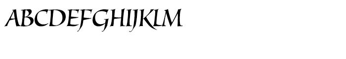 Juliana Regular Font UPPERCASE