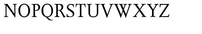 Juliana Text Roman Font UPPERCASE