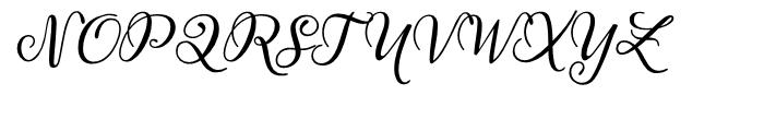 Juliette Regular Font UPPERCASE