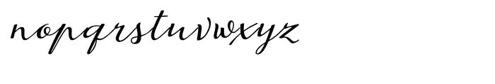Juliette Regular Font LOWERCASE