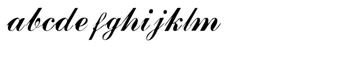 Julisa Script Script Font LOWERCASE