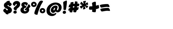Jumble Regular Font OTHER CHARS
