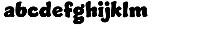 Jumble Regular Font LOWERCASE