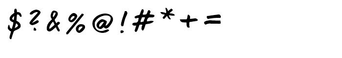 Jump Regular Font OTHER CHARS