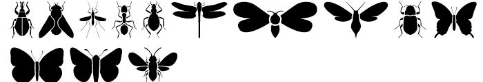 Just Bugs Regular Font LOWERCASE