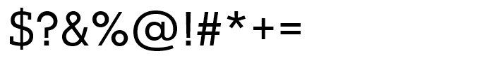 Justus Pro Regular Font OTHER CHARS