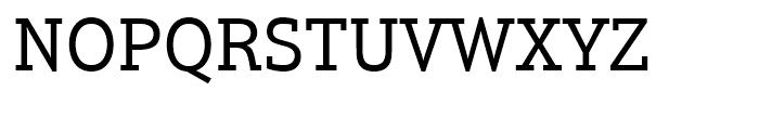 Justus Pro Regular Font UPPERCASE