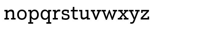 Justus Pro Regular Font LOWERCASE